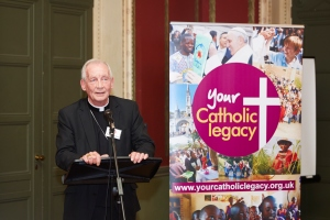 "Archbishop Peter Smith, patron to Your Catholic Legacy, said: ""Legacies play a crucial role in funding the work of Catholic charities. No matter how big or small, a charitable gift in your will brings hope to poor communities across the globe, enables the sharing of God's love and provides those in greatest need with a vital lifeline."""